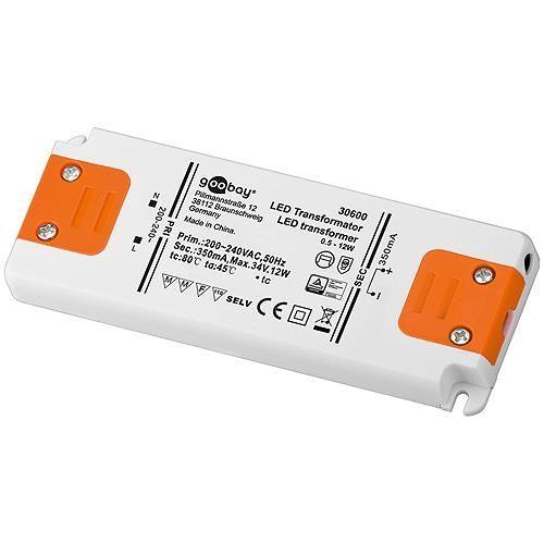 LED-Transformator 12 W CC 350 mA