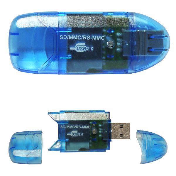 Externes Mini-Kartenlesegerät/Cardreader für SD/SDHC/MMC