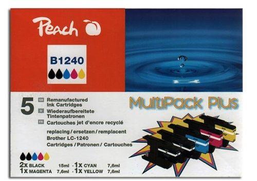 Druckerpatronen Peach Combi-Pack Plus, kompatibel zu LC1240