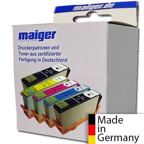 Maiger.de Premium-Combipack (2x schwarz), ersetzt Epson T071, T0