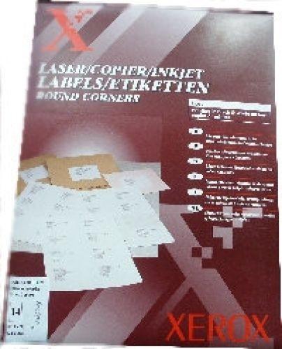 Xerox 003R95828 Laser-/Inkjet-Etiketten