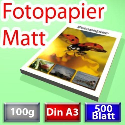 100g Spezial-Papier Din A3, 500 Blatt