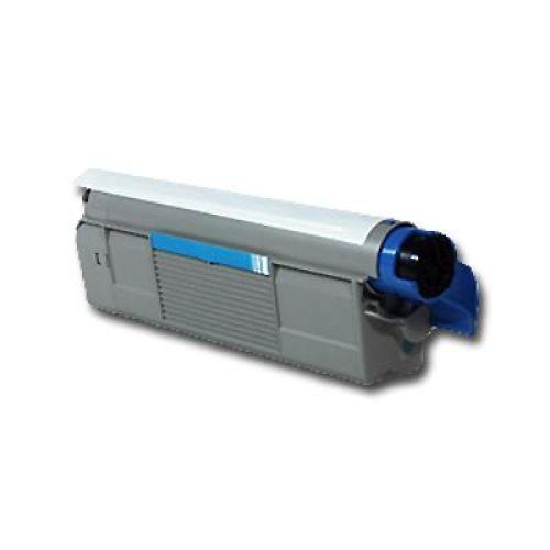 Toner OLC5800C, cyan, Rebuild für Oki-Drucker, ersetzt 43324423