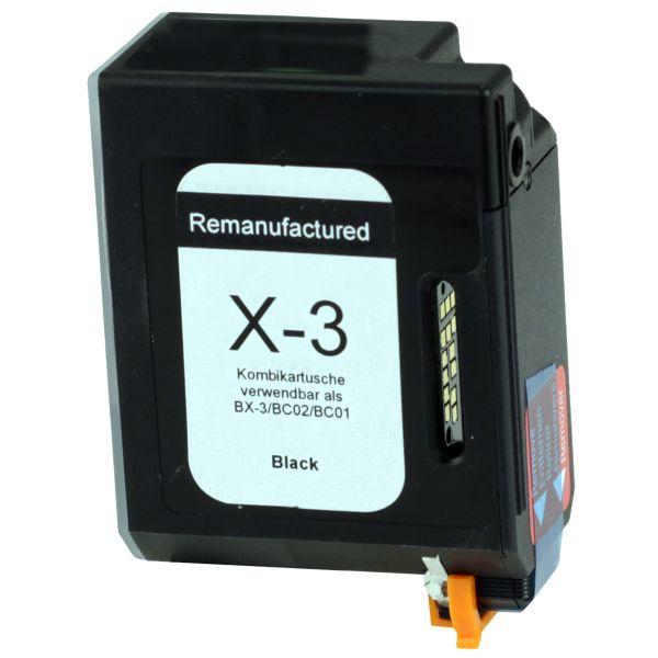 Druckerpatrone für Canon, schwarz, 25ml, TPC02rw
