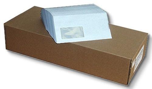 1000 Stück Briefumschläge, DIN lang mit Fenster