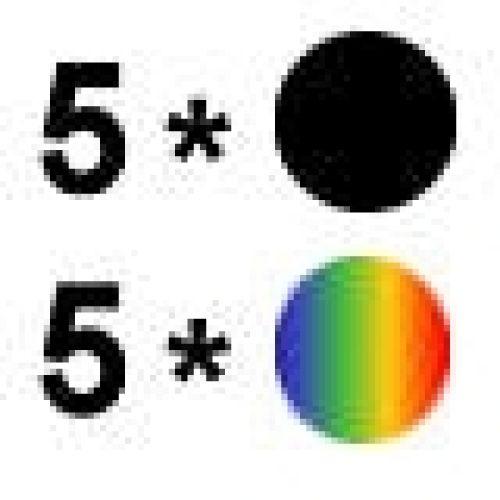 Aktion: 5 mal Farbe + 5 mal Schwarz ES019/020-10