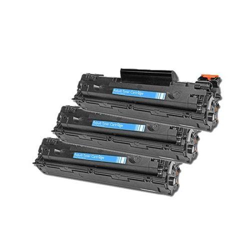 Toner-Sparset: 3 x HLP1102, Rebuild für HP-Drucker