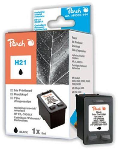 Druckerpatrone schwarz, ersetzt HP Nr. 21/C9351A, Peach
