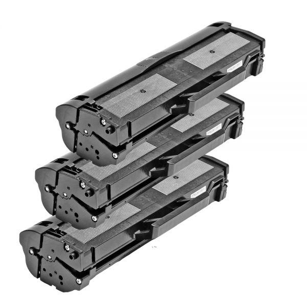 3 Alternativ-Toner, Rebuild für Samsung-Drucker, ersetzt MLT-D 1042