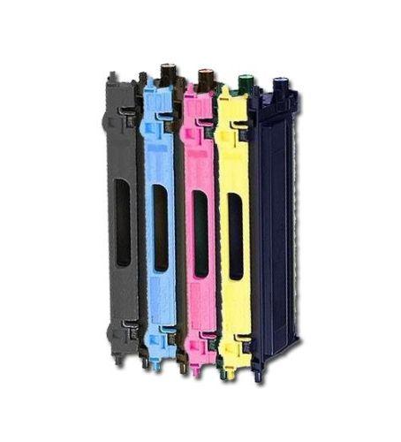 Toner-Sparset: 4 x BLT230, Rebuild für Brother-Drucker