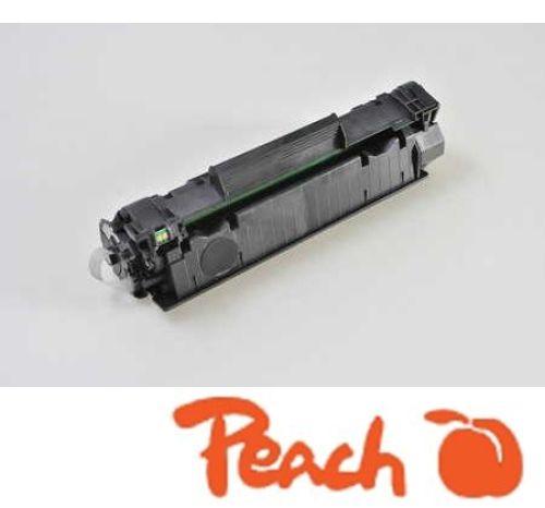 Peach Tonermodul schwarz kompatibel zu CB435A