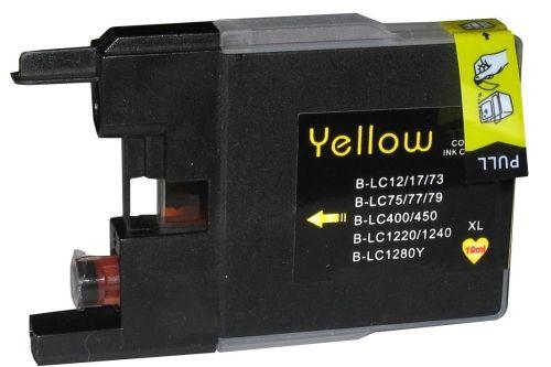 Druckpatrone für Brother, Typ BK1280Y, yellow