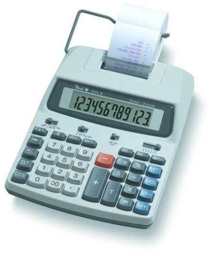 Tischrechner Peach PR670 mit Druckwerk