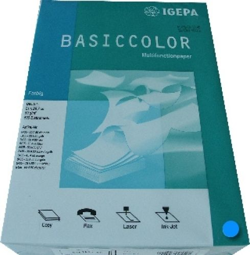 Multifunktionspapier intensivblau A4 80g 500 Blatt