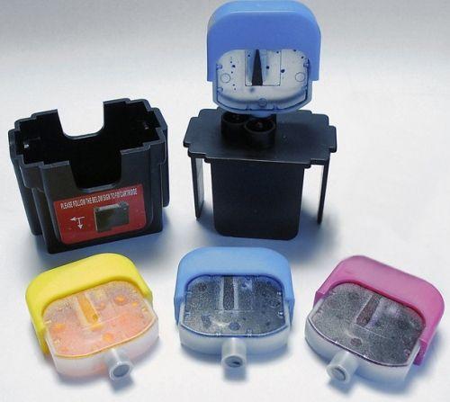 Smart Refilling 028/Farbe für HP Patronen