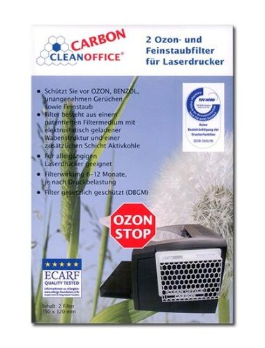 _Feinstaubfilter Carbon Doppelpack | CleanOffice_