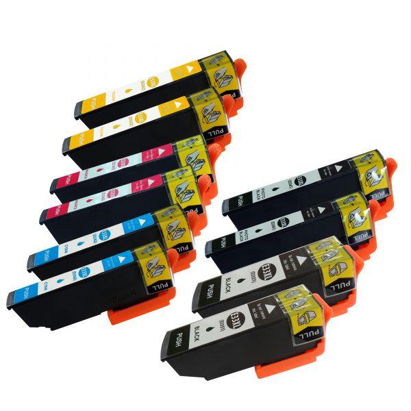 * 10 Patronen kompatibel zu T3351, T3361-T3364