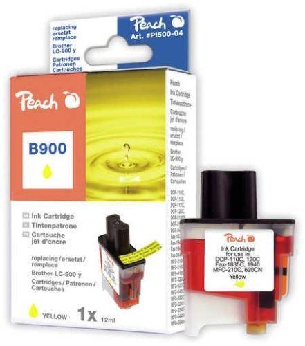 Peach Tintenpatrone gelb kompatibel zu LC-900y