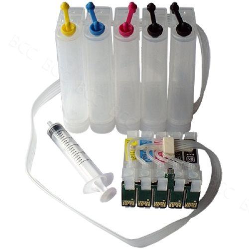 CISS Dauerdrucksystem EKD120 + 1000ml-Tinten
