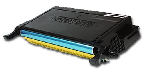 Toner XXL alternativ zu Samsung CLP-Y660B / CLP-610/660 | yellow