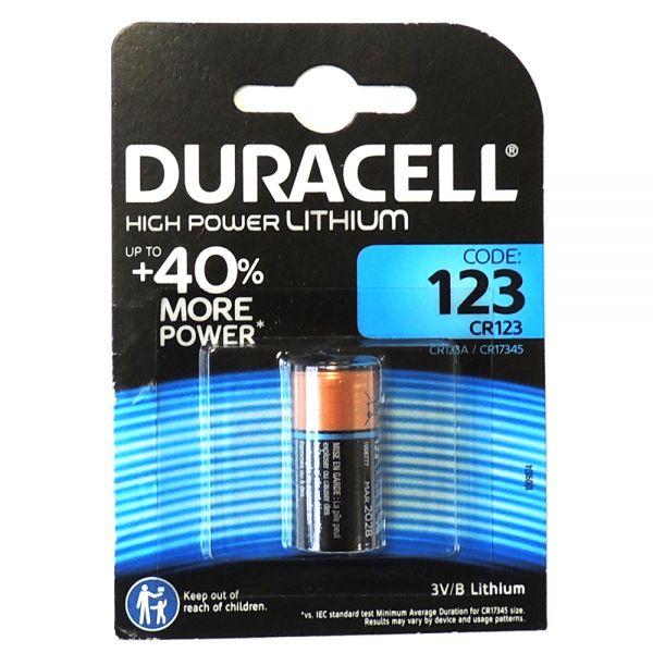 Duracell High Power Lithium Batterie CR 123 A