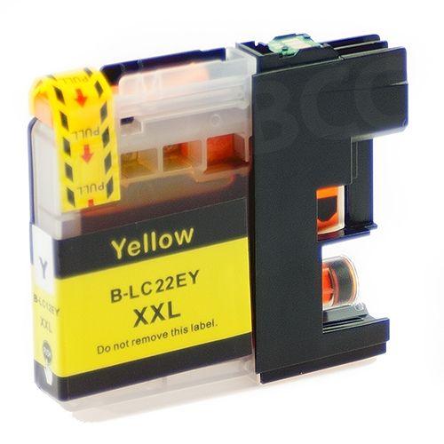 kompatible Patrone BK22YE mit Chip, yellow