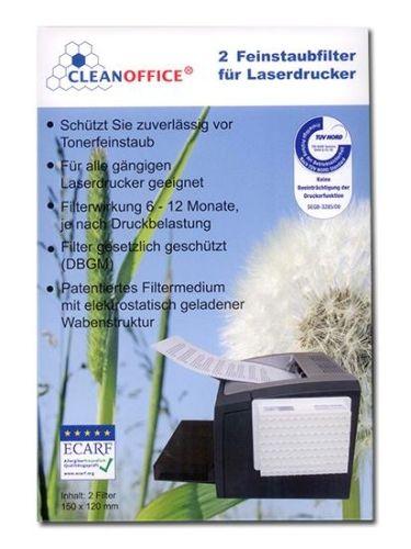_Feinstaubfilter Doppelpack | CleanOffice_