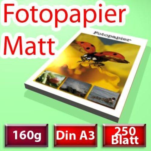 160g Spezial-Papier A3+, 250 Blatt