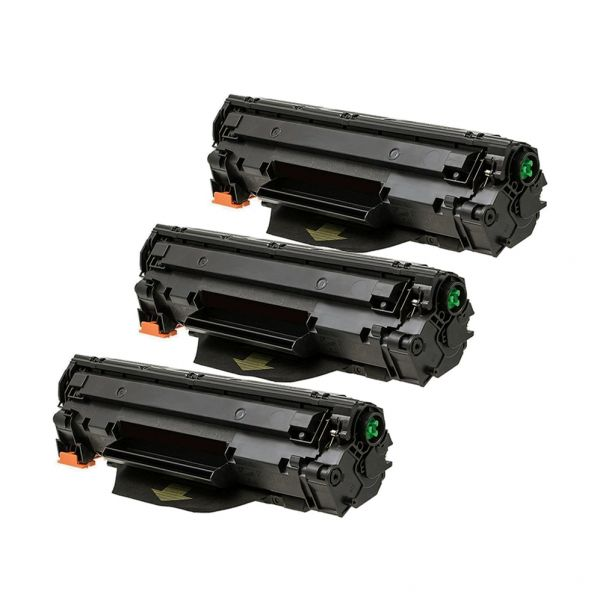 3 x Toner alternativ zu HP CF 279 A | schwarz